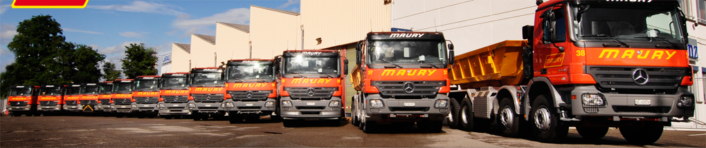Photos des camions de MAURY Transports